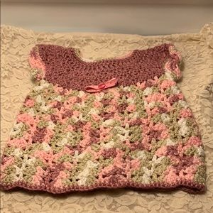 Other - Crochet 🧶 Baby Dress Not Labeled